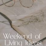 Weekend of Living Ideas